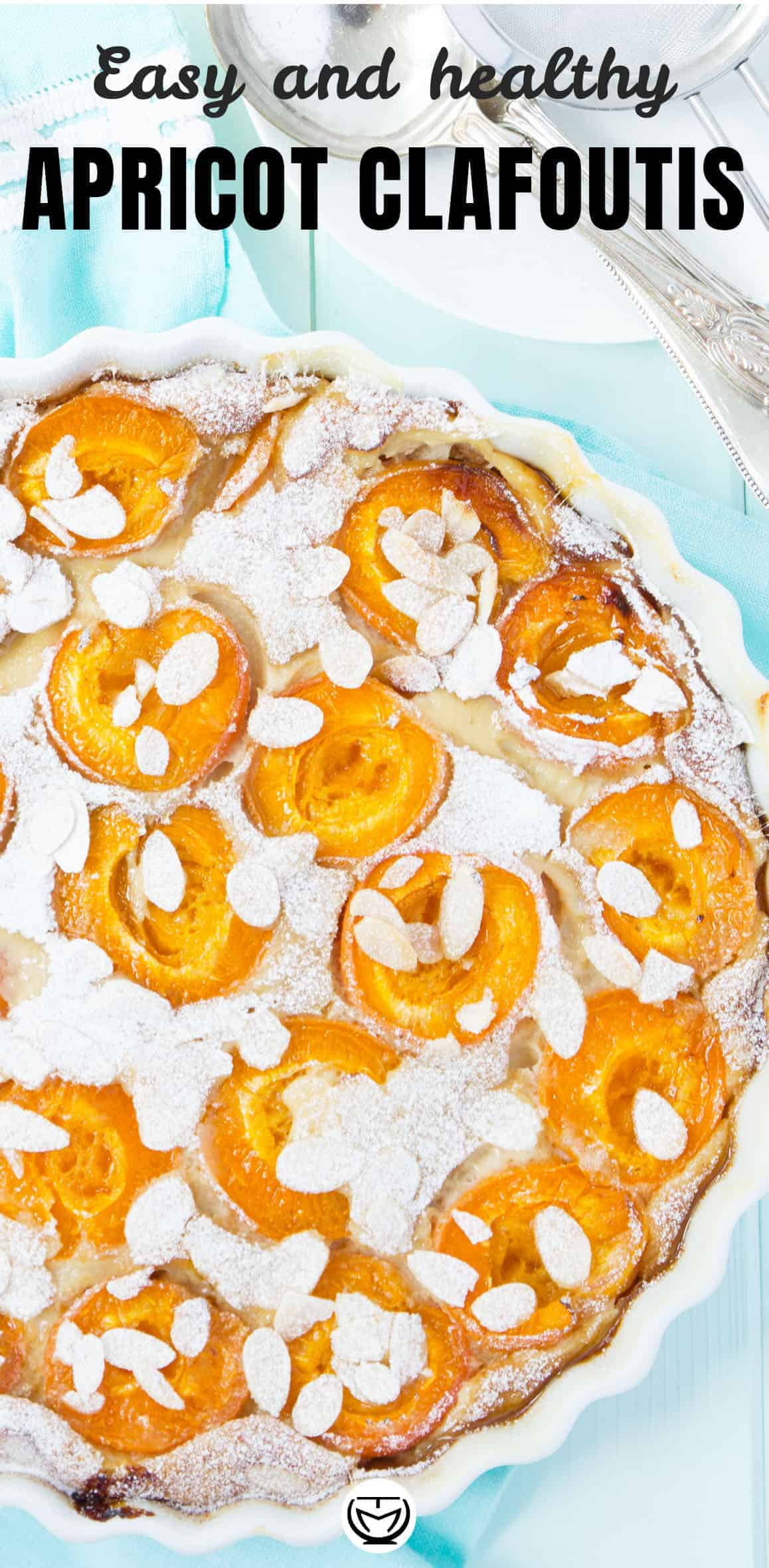easy and healthy apricot clafoutis