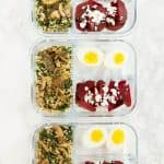 how to meal prep delicious and healthy meals for the week.