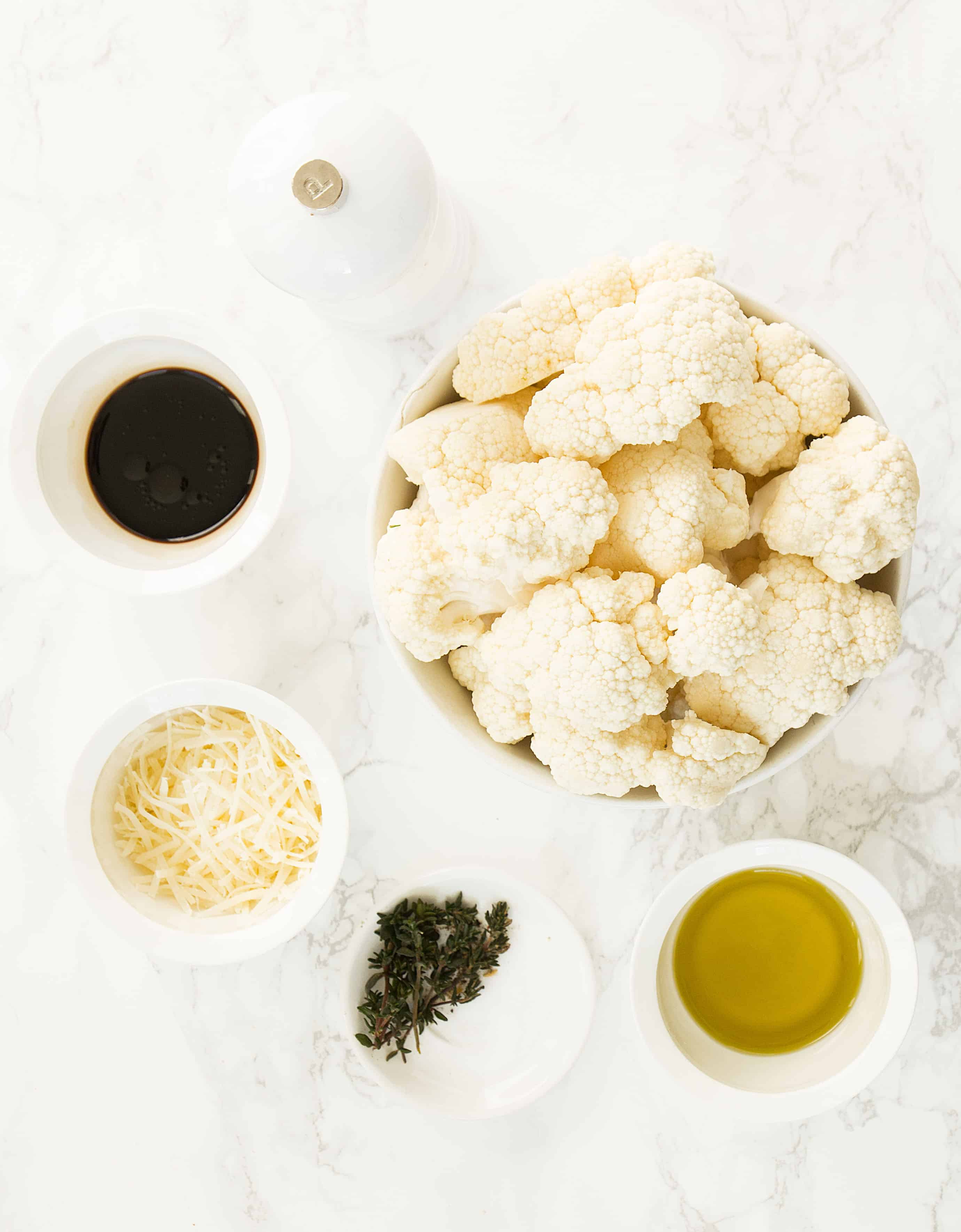 This simple and flavorsomeroasted balsamic cauliflower makes the perfect, healthy and crowd-pleaser side dishand it's ready in less than 30 minutes.