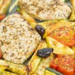 This sheet pan Italian herb chicken is a light, quick and flavorsome all-in-one dinner, it's so easy to assemble, a snap to clean up and ideal for those days when you don't have time to cook.
