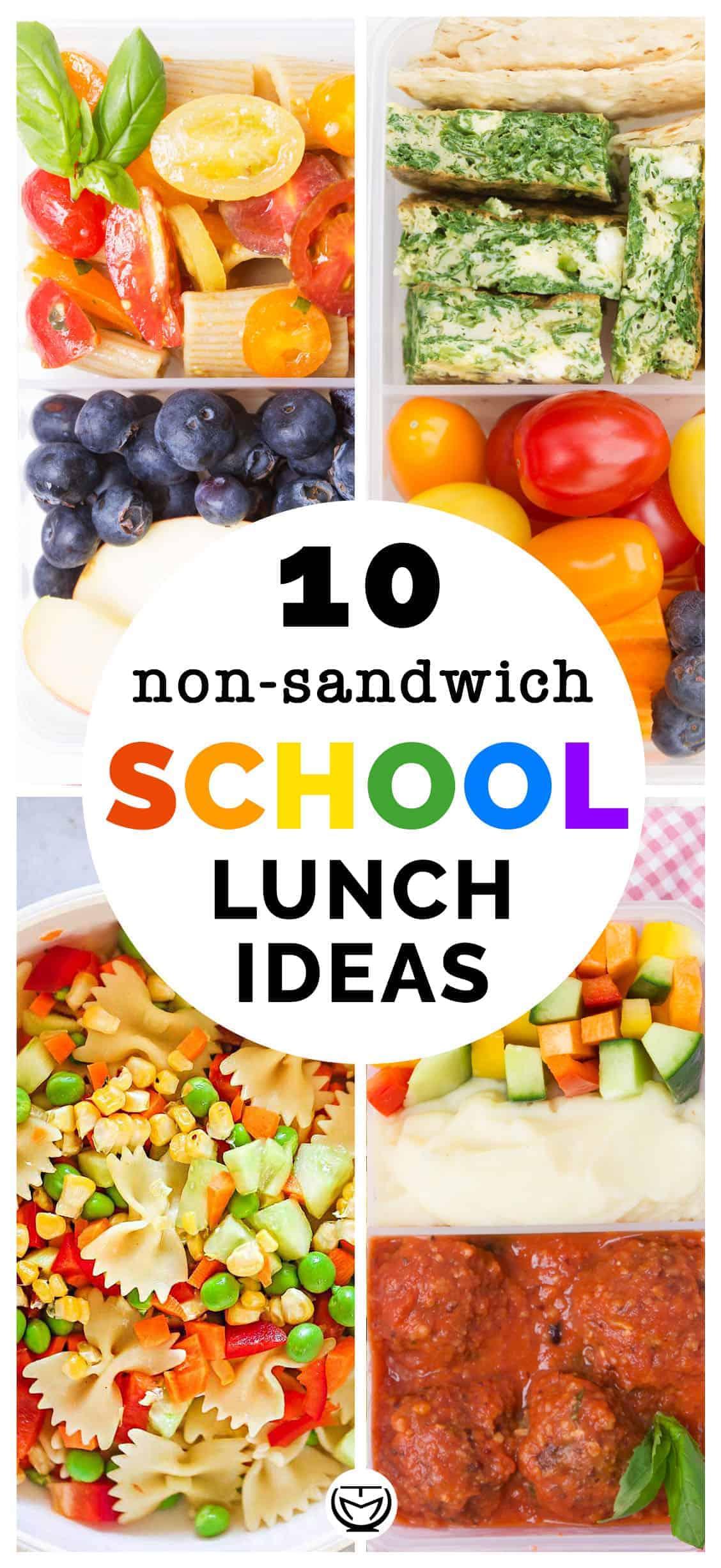 10 yummy and healthy lunch box ideas for school.
