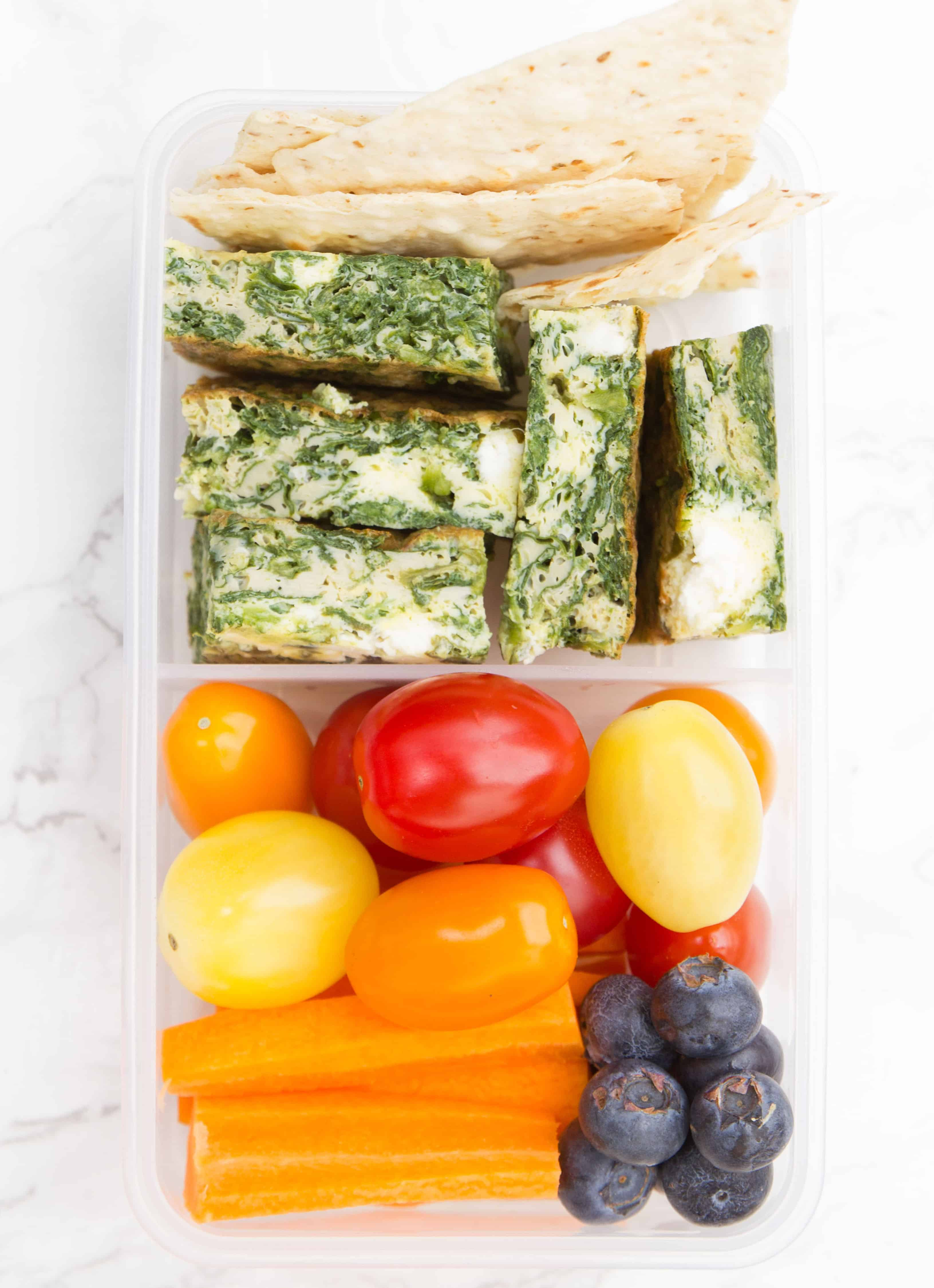 Yummy and healthy lunch box ideas for school. Recipe by The Clever Meal