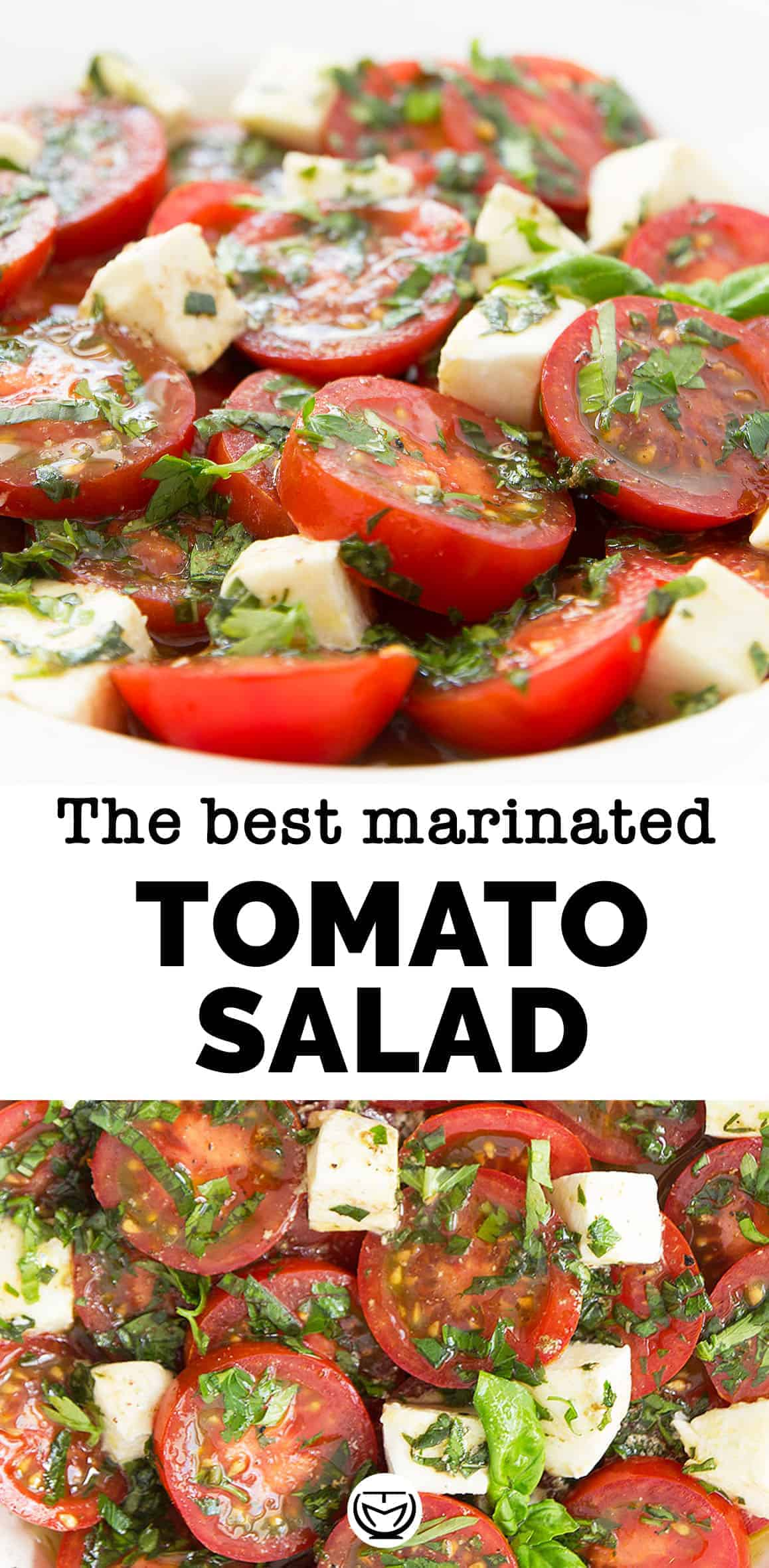 The best marinated tomato salad perfect for your summer gatherings!