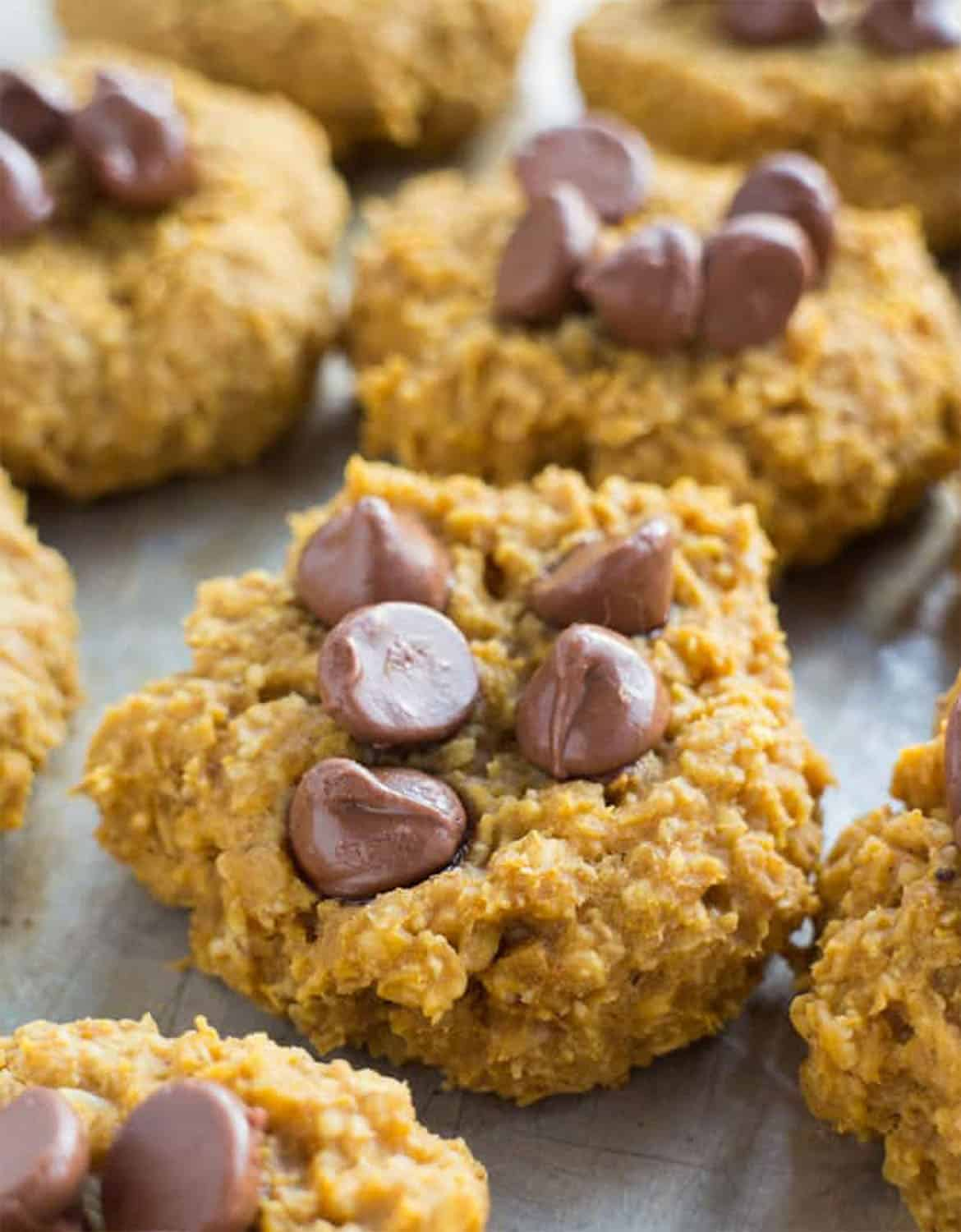 5 INGREDIENT HEALTHY PUMPKIN COOKIES by Brooklyn Farm Girl