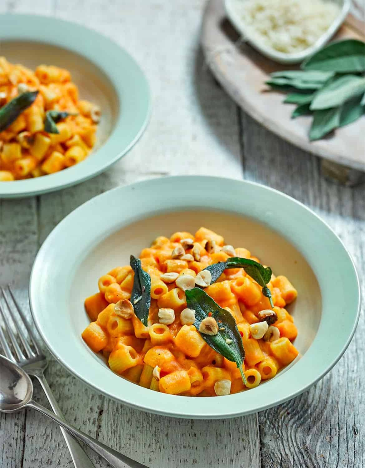 ROASTED PUMPKIN MACARONI by Attachment Mummy