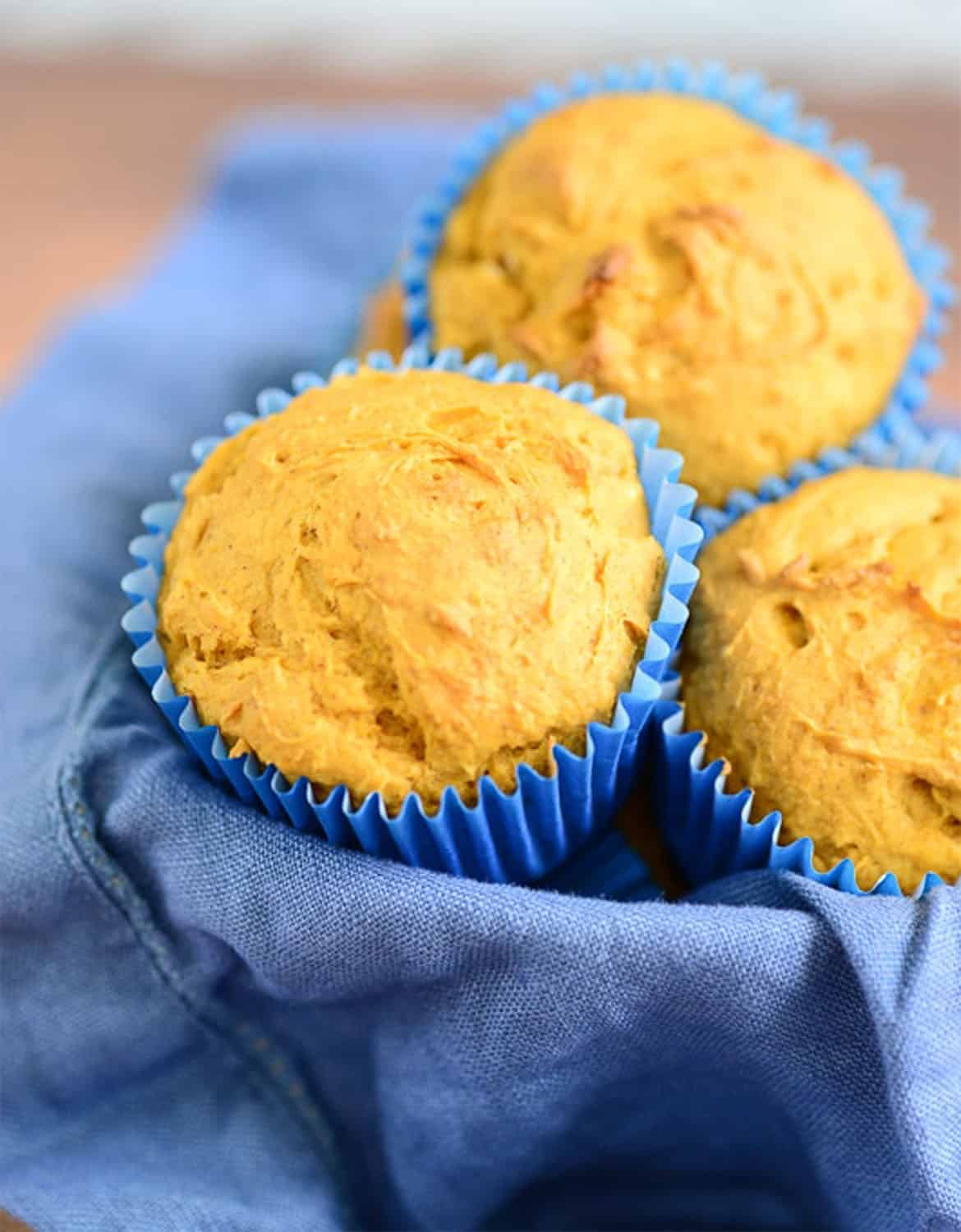HEALTHY PUMPKIN MUFFINS by Delicious Every Day