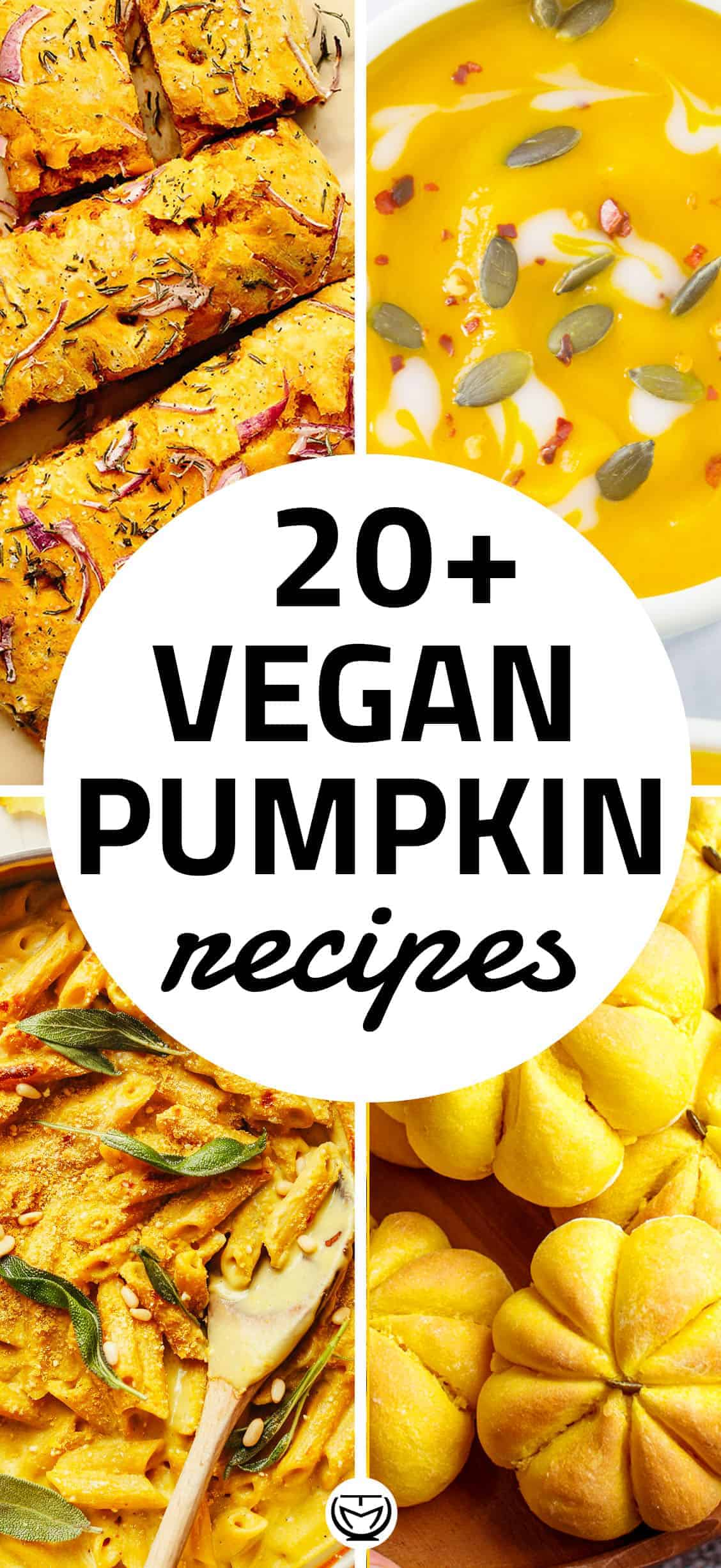 Let's celebrate the autumn with this collection of delicious vegan pumpkin recipes!