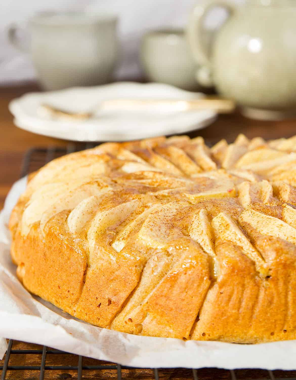 healthy and easy apple cake
