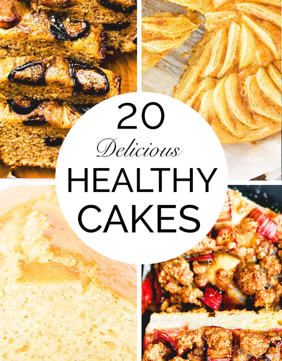 Magnificent 20 Wholesome Healthy Cake Recipes The Clever Meal Personalised Birthday Cards Paralily Jamesorg