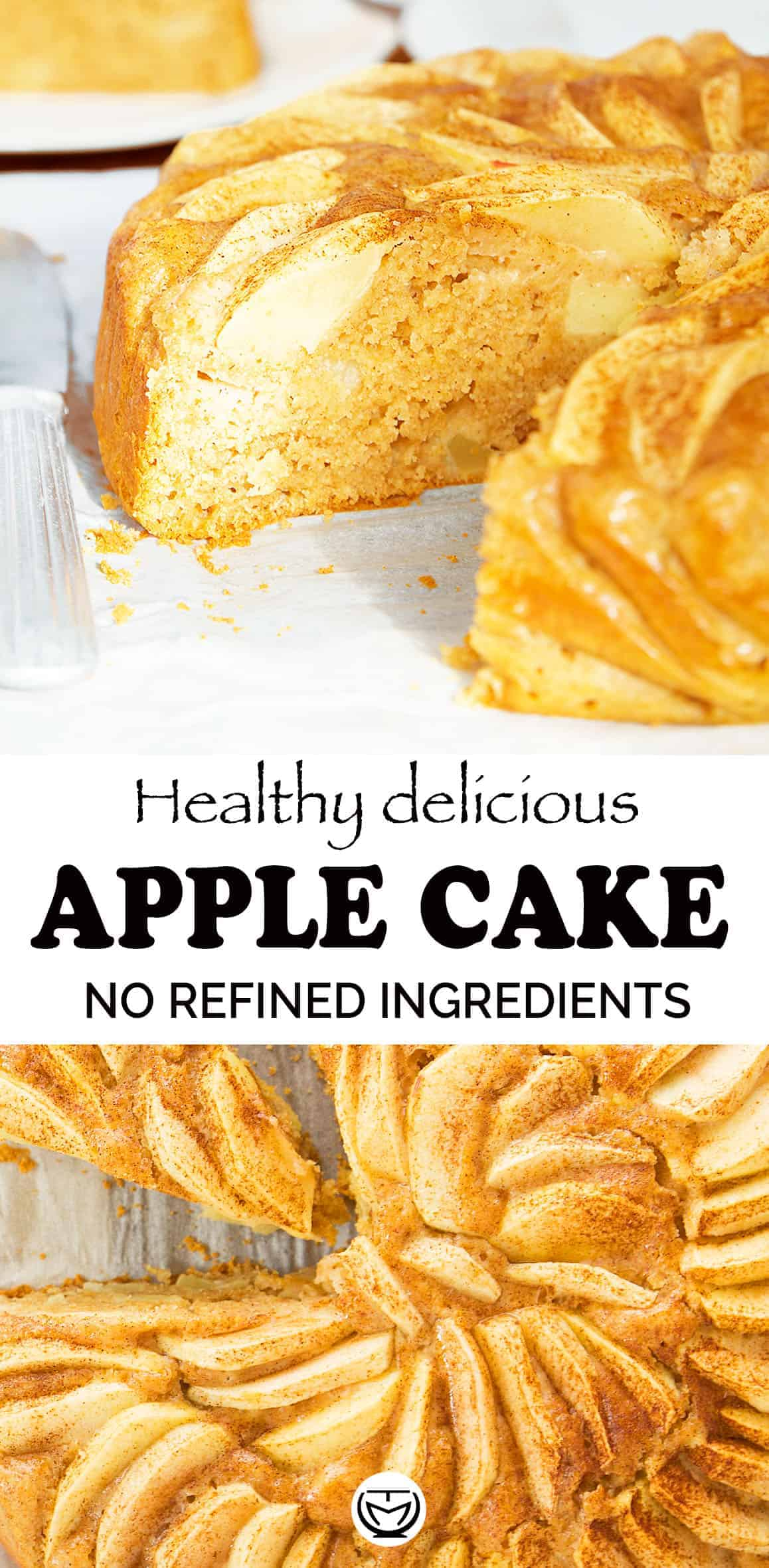 A delicious, wholesome apple cake loaded with fresh crunchy apples and yogurt.