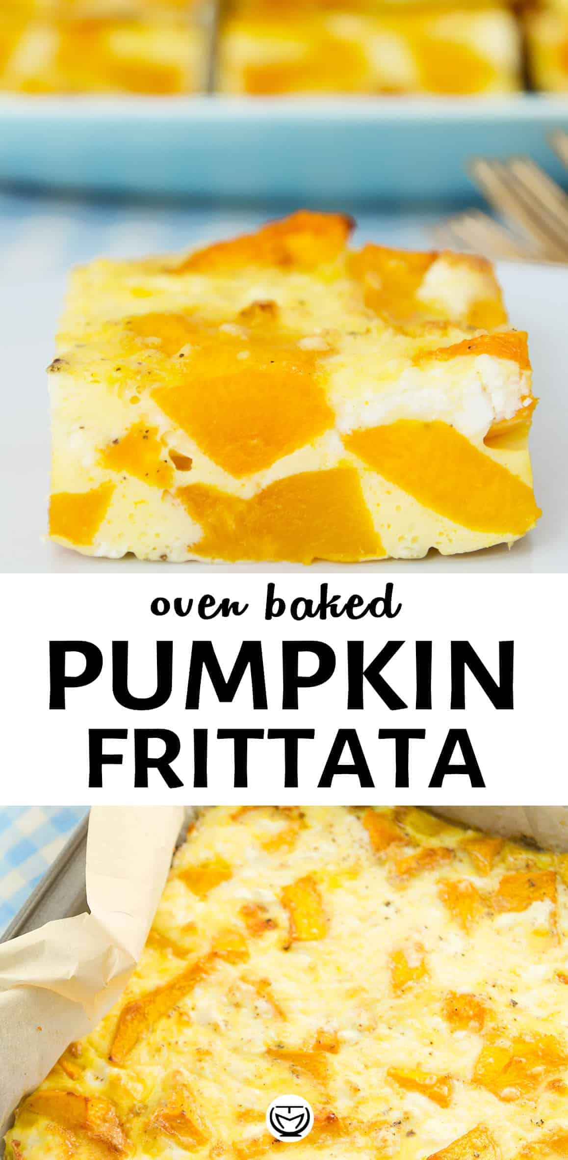 This hearty, delicious and healthy pumpkin frittata is super easy, loaded with nutrients and perfect for brunch!