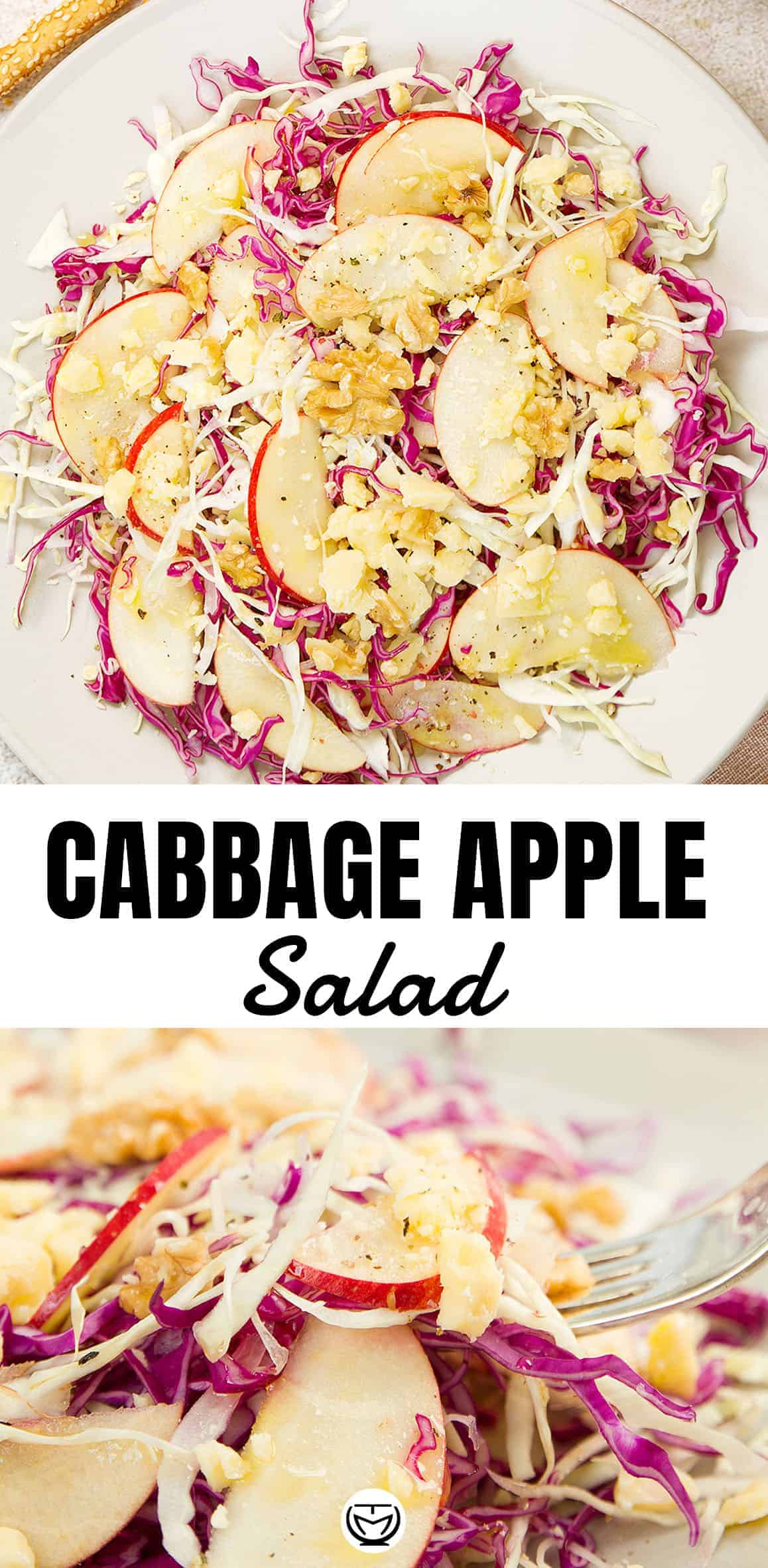 This delicious, colorful and crunchy cabbage salad is ready in 10 minutes, budget-friendly and packed with health benefits! #saladrecipes #saladrecipeshealthy #vegetarianrecipes #cheapmeals #cabbagerecipes #glutenfreerecipes
