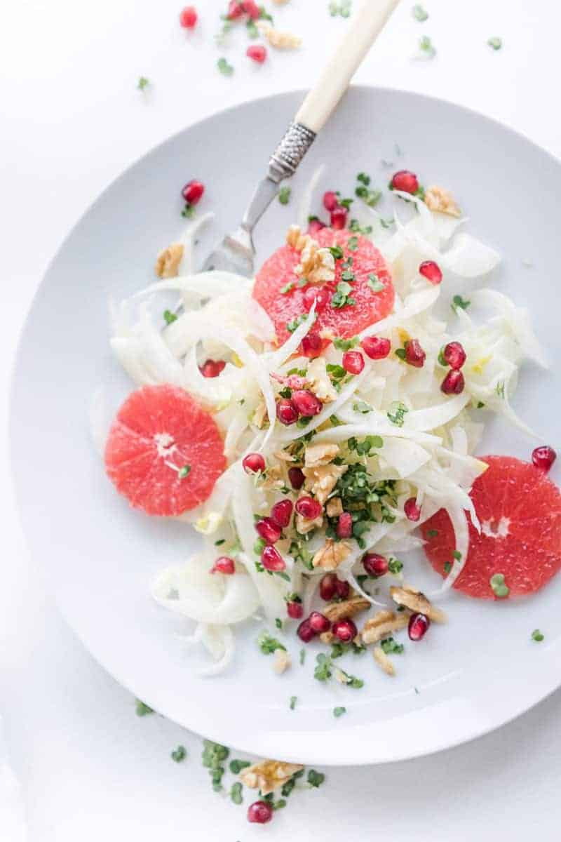 15 amazing holiday salads: DELICIOUS FENNEL SALAD by Gathering Dreams
