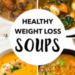 These delicious weight loss soups are amust for everyone after having indulged in the rich festive food. They're warming, vegetarian, hearty and contain LESS THAN 200 CALORIES PER SERVING.