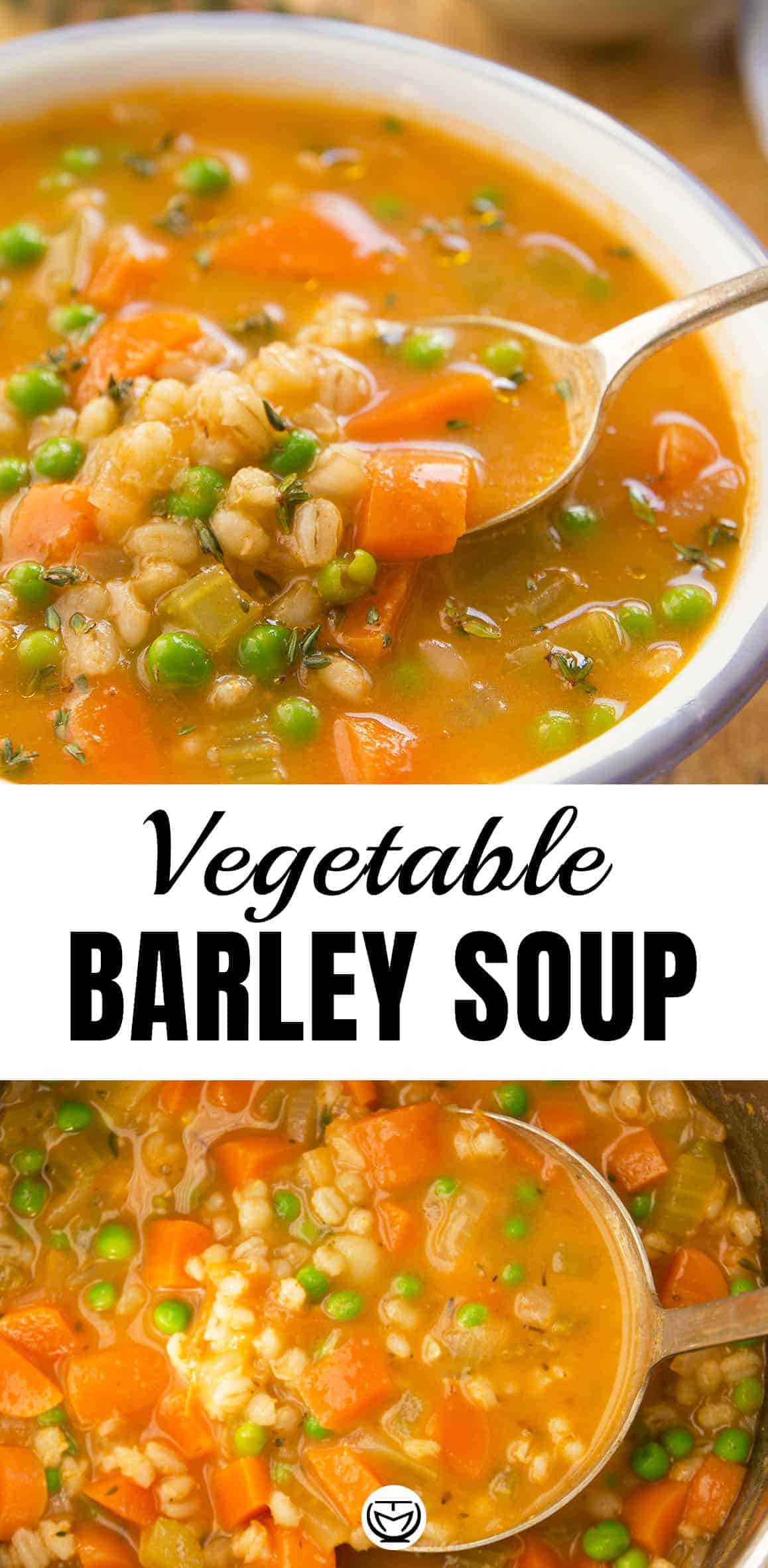 Let the homey flavors speak for themselves with thishearty and simply delicious vegetable barley soup. It's easy to make, healthy, packed with vegetables, and you can't stop eating it! #barleysoup #barleyrecipe #souprecipes #souprecipeshealthy #veganrecipes #vegetarianrecipes