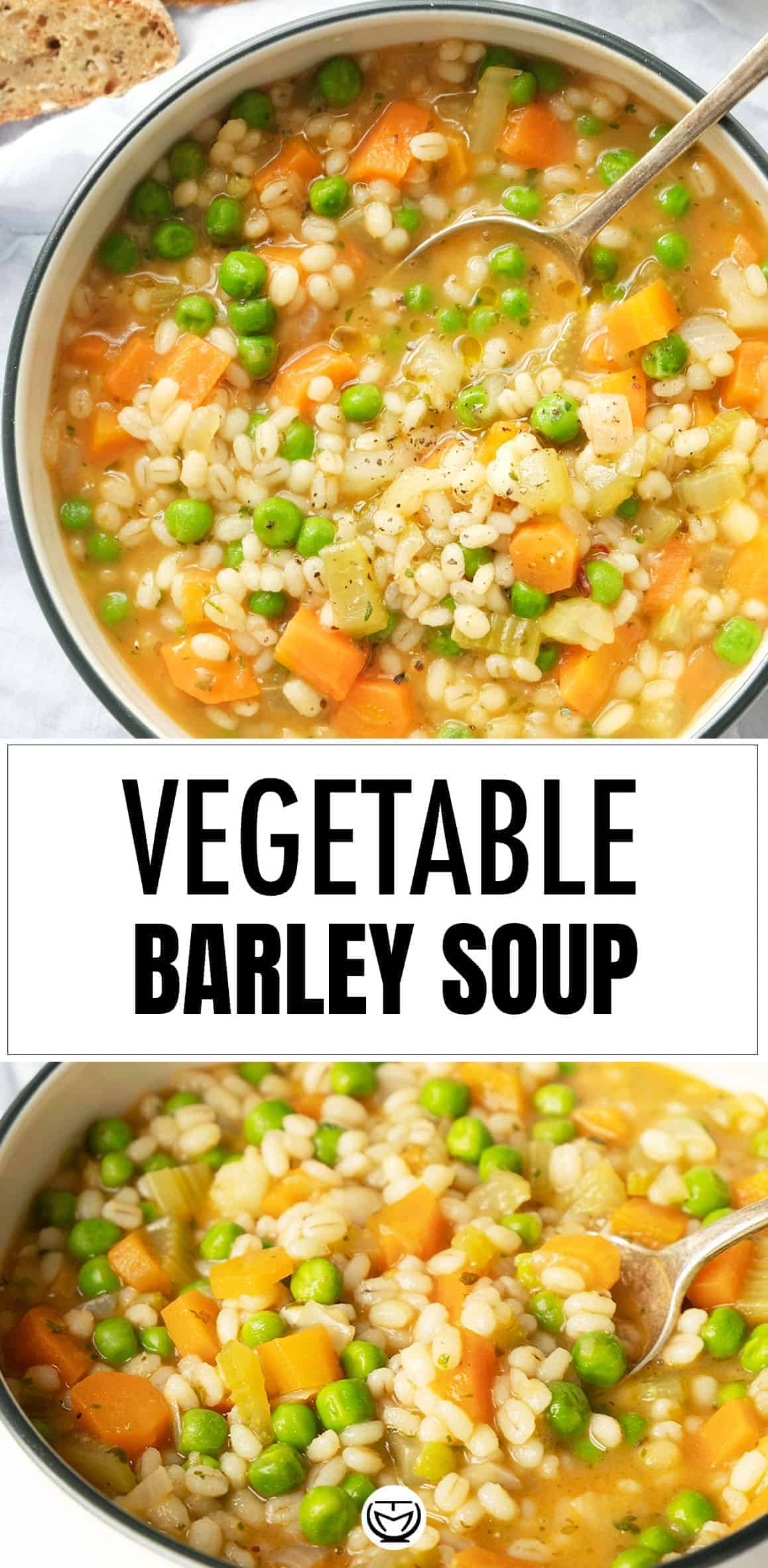 Let the homey flavors speak for themselves with this hearty and simply delicious vegetable barley soup. It's easy to make, healthy, packed with vegetables, and you can't stop eating it! #barleysoup #barleyrecipe #souprecipes #souprecipeshealthy #veganrecipes #vegetarianrecipes