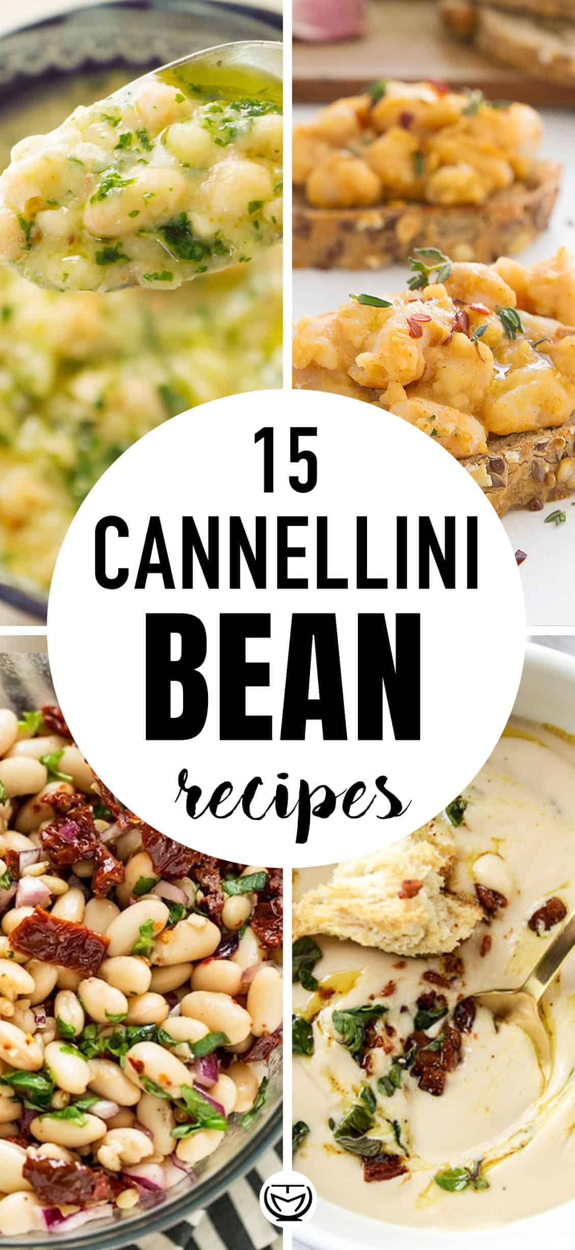 15 Delicious cannellini bean recipes you will love! #cannellinibeanrecipes #cannellinirecipes #cannellinisoups #whitebeansoups